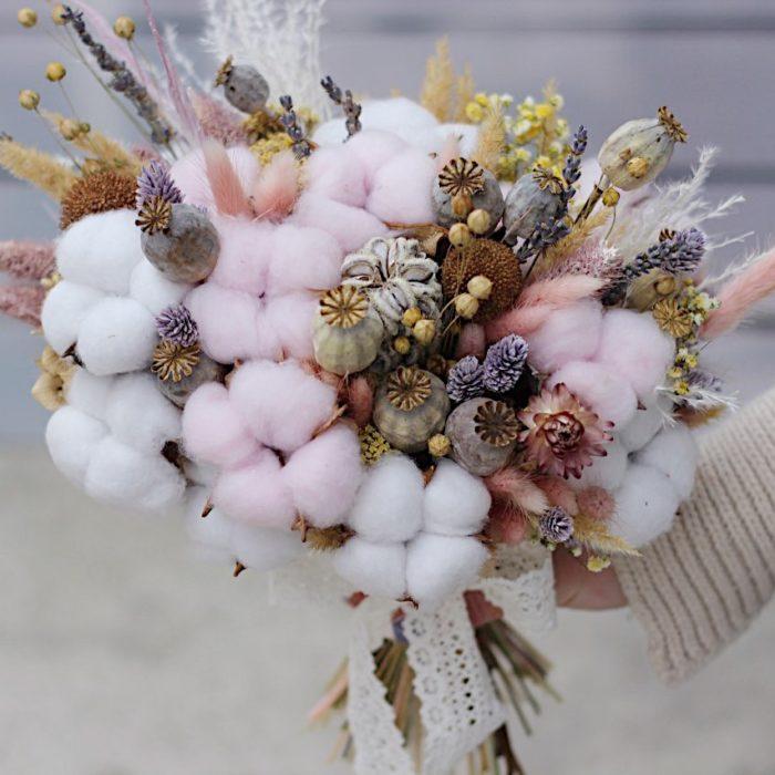 Букет Невесты из Сухоцветов