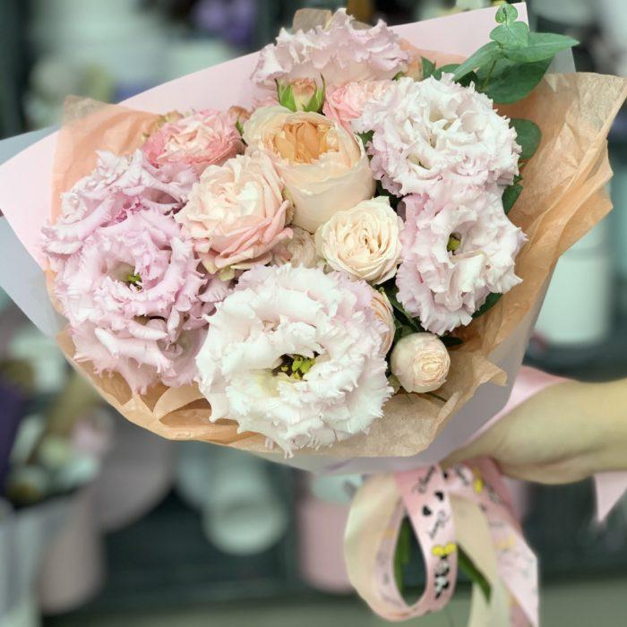 Букет Абрикосовый Цвет