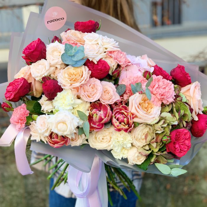 Букет цветов Волшебное мгновение