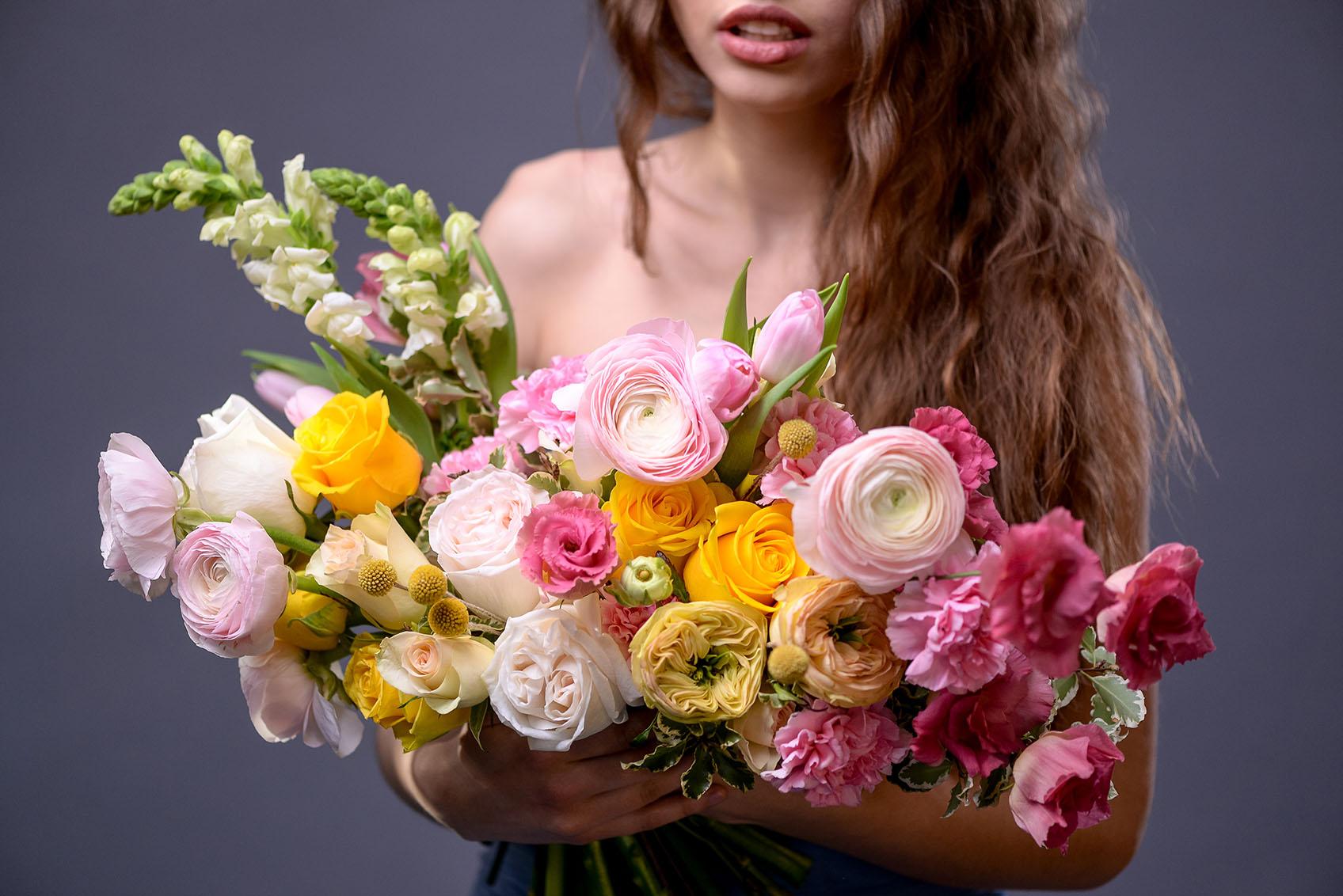 Как ухаживать за букетом цветов?