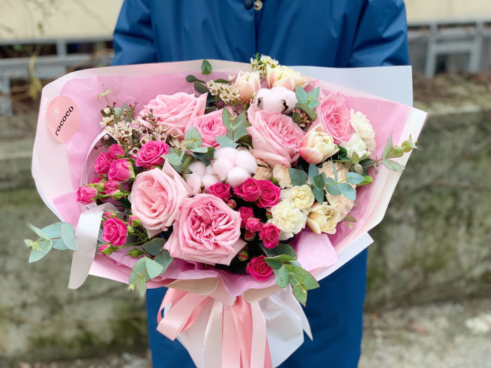 Букет цветов на заказ Сочи