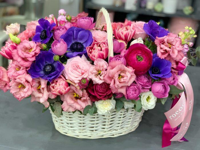 коробки корзины цветов Сочи