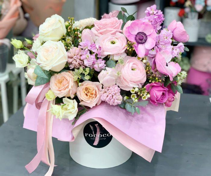Коробки цветов Сочи