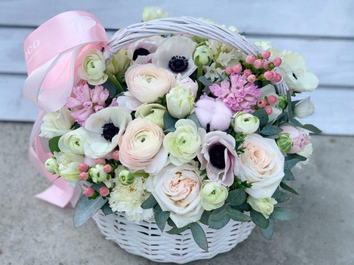 Корзина цветов Сочи