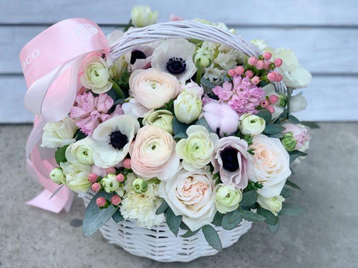Корзины цветов Сочи