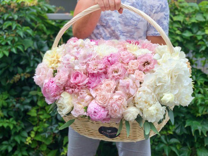 Цветочная корзина Сочи