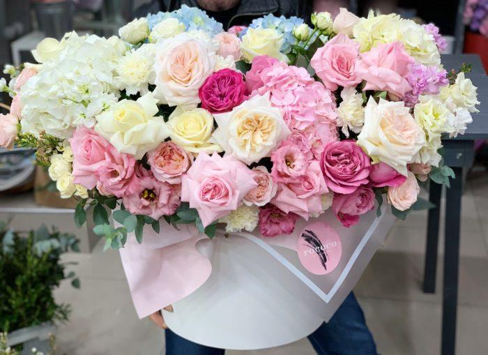 Коробок цветов Сочи на заказ