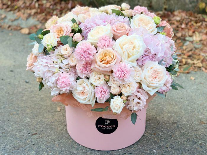 Подарочные коробки цветов Сочи