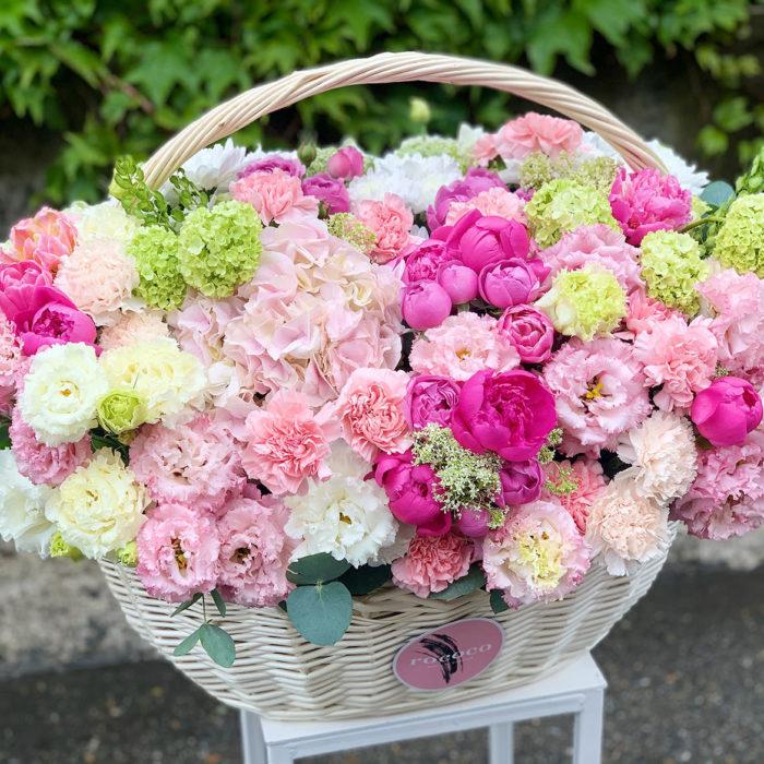 Корзина Цветов Rococo