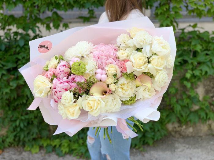 Цветы курьером