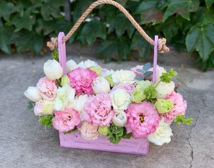 коробки и корзины цветов в Сочи