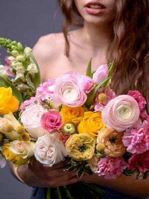Как ухаживать за букетом цветов